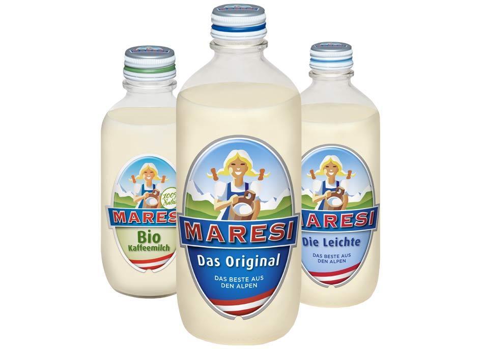 Maresi Kaffemilch Sorten